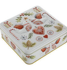 Christmas Butter Biscuit Selection in Turtle Dove Tin