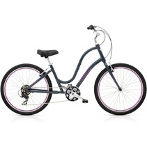 Electra Townie Original 21D Ladies 26 Seal Grey