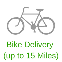 Bike Delivery (up to 15 Miles)