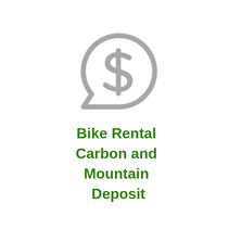 Bike Rental Carbon and Mountain Deposit
