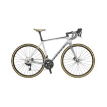 Scott Addict 20 Disc 2019 Grey White  56 Road Bike