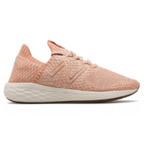 New Balance Fresh Foam Cruz SockFit Women's Phantom with Copper & Pink Mist