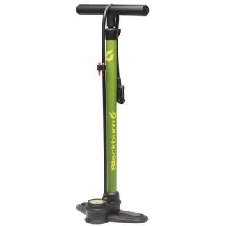 BLACKBURN Blackburn Piston 1  Dark Olive/Yellow Floor Pump