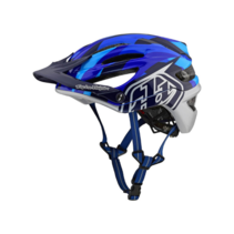 Troy Lee A2 Mips Jet Helmet Blue Medium/Large