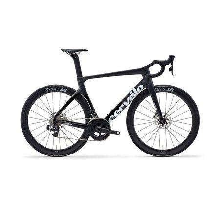 CERVELO Cervelo S5 Disc Red ETap Road Bike Black/Graphite/White 51