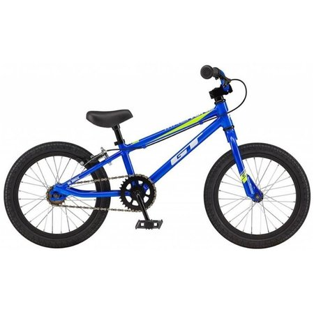 GT Gt Mach One Fw 16 2019 Electric Blue Kids Bikes
