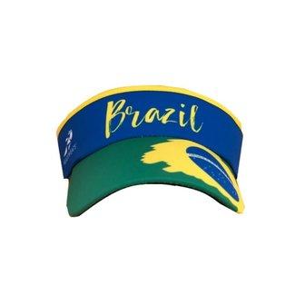 HEADSWEATS Headsweats Visor  Brazil