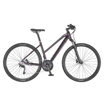 Scott Sub Cross 20 Lady Hybrid Bike Dark Purple Small
