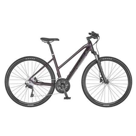 SCOTT Scott Sub Cross 20 Lady Hybrid Bike Dark Purple Small