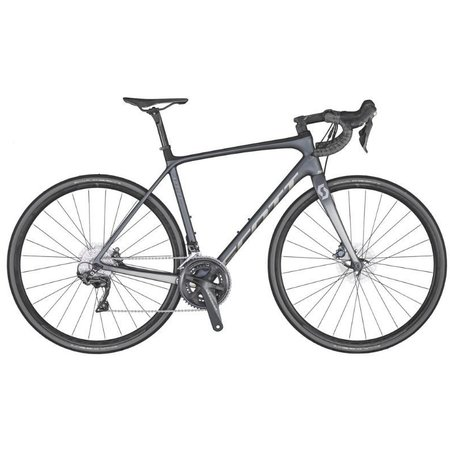 SCOTT Scott Addict 10 Disc  Road Bike Grey XSmall/49