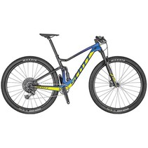 Scott Spark RC 900 Team Issue Axs Mountain Bike Blue/Yellow Medium