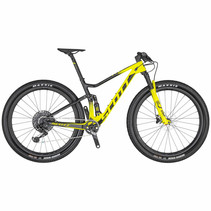 Scott Spark RC 900 World Cup Mountain Bike Yellow/Black Medium