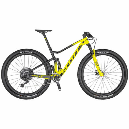 SCOTT Scott Spark RC 900 World Cup Mountain Bike Yellow/Black Medium