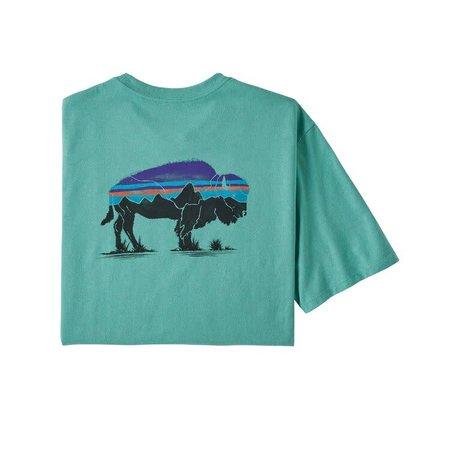 PATAGONIA Patagonia Fitz Roy Bison Responsibili Tee T-Shirt Men's