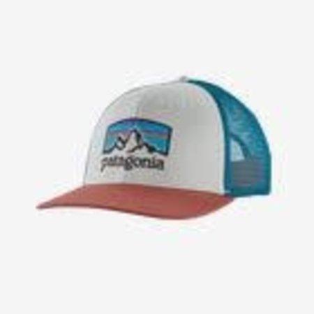 PATAGONIA Patagonia Fitz Roy Horizons Trucker Hat White/Rose One Size
