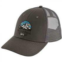 Patagonia Fitz Roy Scope LoPro Trucker Hat Forge Grey One Size