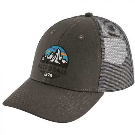 PATAGONIA Patagonia Fitz Roy Scope LoPro Trucker Hat Forge Grey One Size