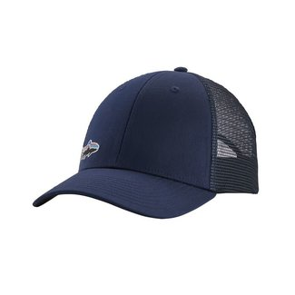 PATAGONIA Patagonia Small Fitz Roy Fish LoPro Trucker Hat Classic Navy w/Trout One Size