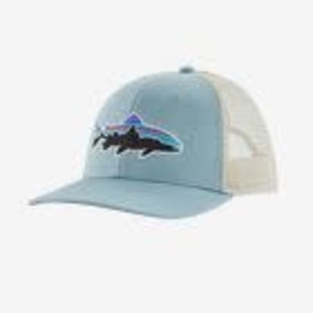 PATAGONIA Patagonia Fitz Roy Trout Trucker Hat Big Sky Blue One Size