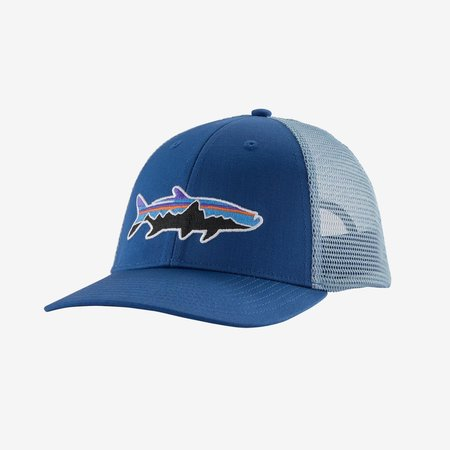 PATAGONIA Patagonia Fitz Roy Tarpon LoPro Trucker Hat Superior Blue One Size
