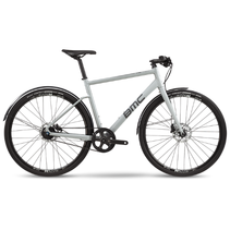 Bmc Alpenchallenge 02 One Airforce Hybrid Bike 2020 Grey/Reflective Small