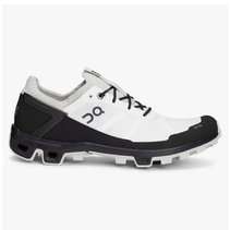 On Cloudventure Peak Running Shoes Men's White/Black 10.5