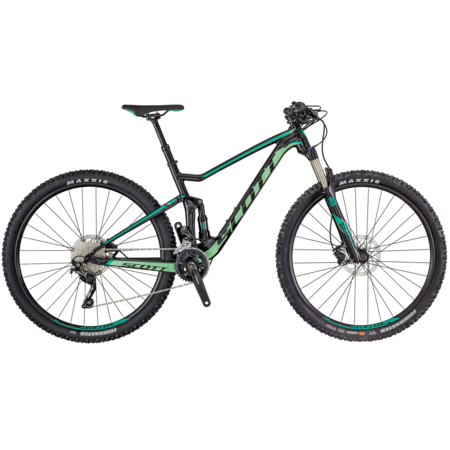SCOTT Scott Contessa Spark 930 Mountain Bike 2019 Black/Green Large