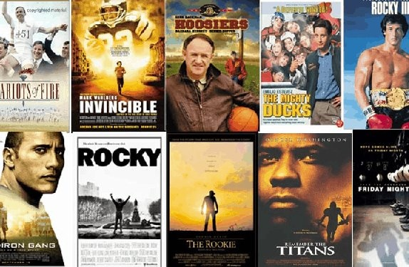5 inspirational sports movies that you have to see.