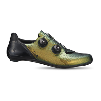 SPECIALIZED S-Works 7 Road Shoes - Sagan Collection: Deconstructivism   Green 45
