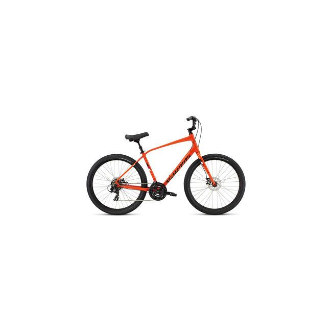 SPECIALIZED Roll Sport 1N19 Moto Orange/Red/Metallic White Silver Reflective Medium