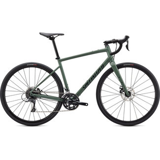 SPECIALIZED Specialized Diverge Base E5 Gloss Sage Green/Forest Green/Chrome/Clean  54