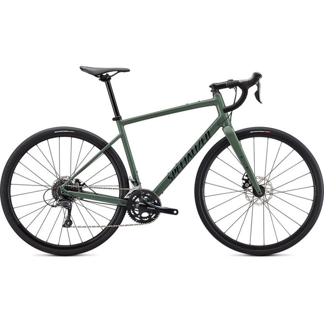 SPECIALIZED Diverge Base E5 Gloss Sage Green/Forest Green/Chrome/Clean  54