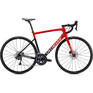 SPECIALIZED Specialized Tarmac SL6 Comp Red Tint Fade/White with Gold Pearl 52