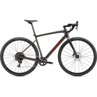 SPECIALIZED Specialized Diverge Base Carbon  Gloss Smoke/Redwood/Chrome/Clean 58