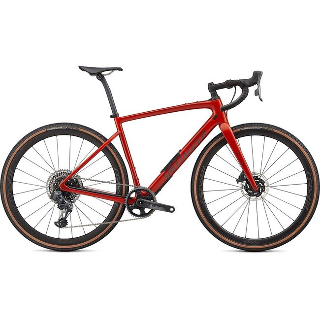 SPECIALIZED Diverge Pro Carbon Gloss Redwood/Smoke/Chrome/Clean 52