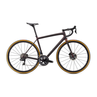 SPECIALIZED Specialized S-Works Aethos - Dura Ace Di2  Satin Carbon/Red Gold Chameleon/Bronze Foil 54