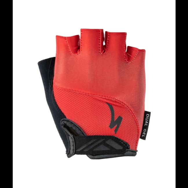 SPECIALIZED Men's Body Geometry Dual-Gel Gloves  Red