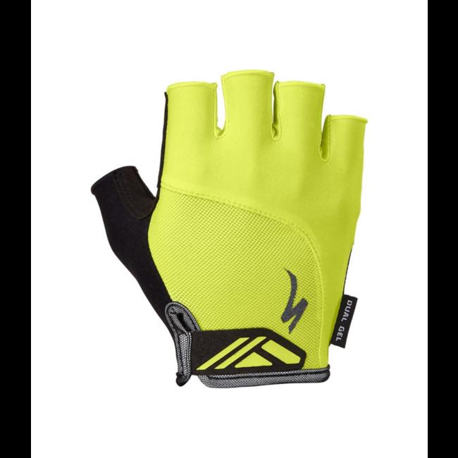 SPECIALIZED Men's Body Geometry Dual-Gel Gloves Hyper Green