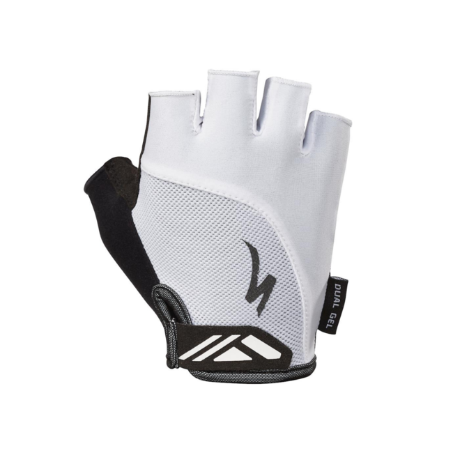 SPECIALIZED Women's Body Geometry Dual-Gel Gloves White Small