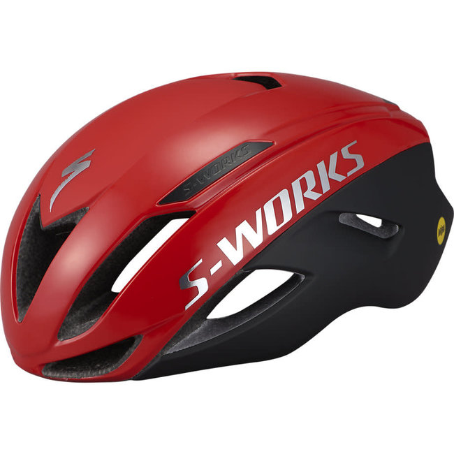 SPECIALIZED Specialized S-Works Evade Satin/Gloss Flo Red/Chrome Large