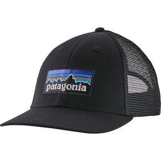 PATAGONIA Patagonia P-6 Logo LoPro Trucker Hat Black