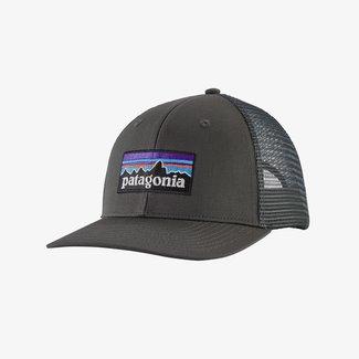 PATAGONIA Patagonia P-6 Logo Trucker Hat Forge Grey One Size