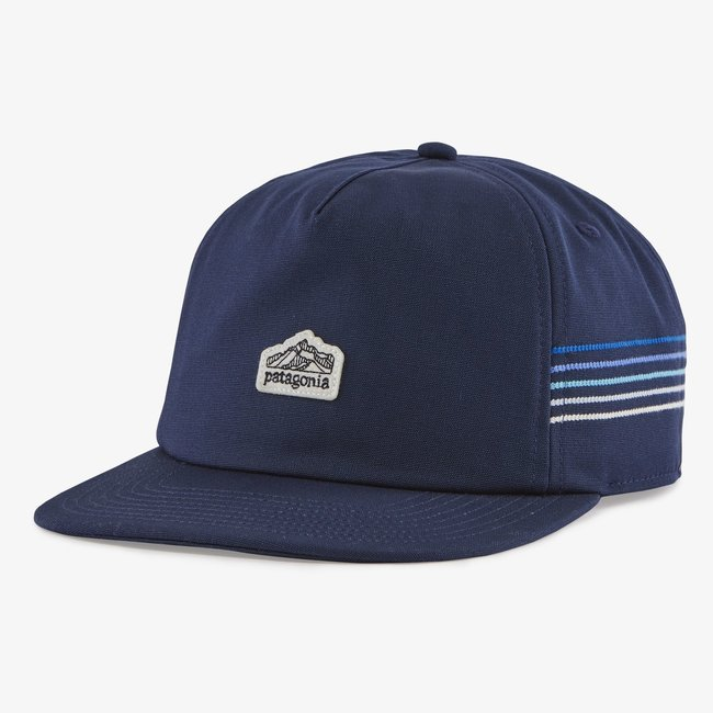 PATAGONIA Line Logo Ridge Stripe Funfarer New Navy Cap