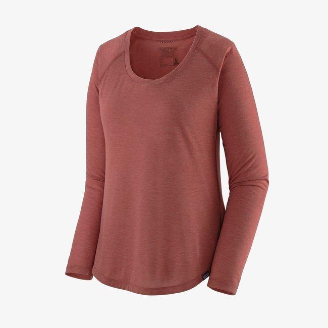 PATAGONIA Long-Sleeved Capilene Cool Trail Shirt Women's Rosehip Medium