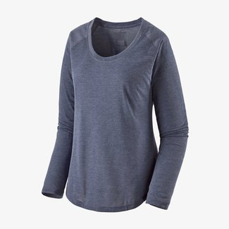 PATAGONIA Patagonia Long-Sleeved Capilene Cool Trail Shirt Women's Classic Navy Small