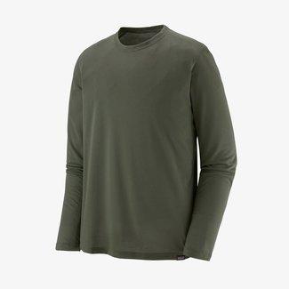 PATAGONIA Patagonia Long-Sleeved Capilene Cool Trail Shirt Men's  Industrial Green Medium
