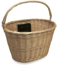 QR NATURAL WICKER BASKET FT