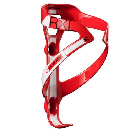 BONTRAGER RXL BOTTLE CAGE RED/WHITE