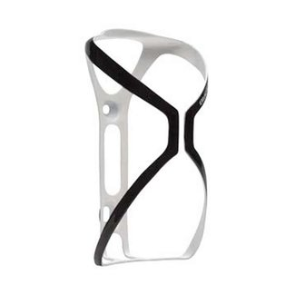 BLACKBURN Blackburn Cinch Carbon Bottle Cage Matte White/Black