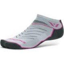 SWIFTWICK COMPRESSION ZERO GREY/PINK LARGE WOMEN'S/MEN'S